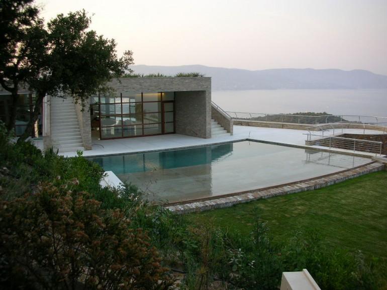 Casa in Francia Costa Azzurra - Piscina in marmo